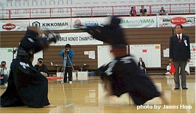 Photo from the 11th World Kendo Championships